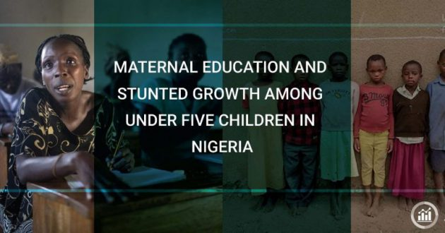 maternal education and stunted growth among under 5